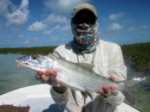 DJ with a nice Mars Bay bonefish.