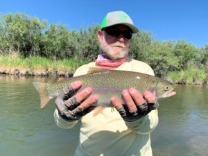 Capt. Rick Beaverhead rainbow